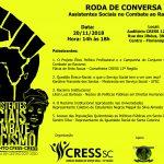 Roda de Conversa – Assistentes Sociais no Combate ao Racismo