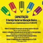Capacitação – O Serviço Social na Educação Básica: elementos para a implementação da Lei 13.935/2019