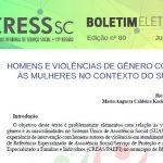 Boletim Eletrônico nº 80 – Homens e Violências de Gênero Contra as Mulheres no Contexto do SUAS