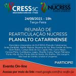 Reunião de Rearticulação NUCRESS Planalto Catarinense